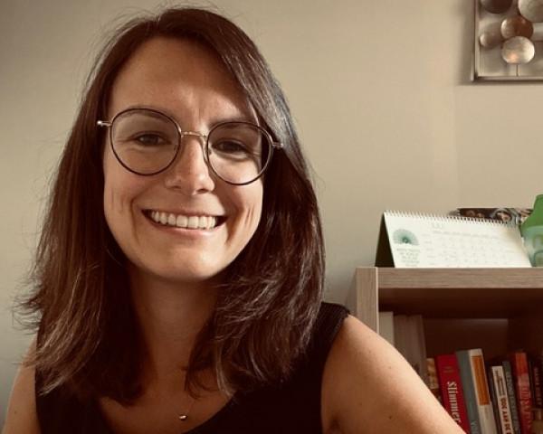 Kimberly Van Diest diëtiste en EQ3 mentor te Lembeek