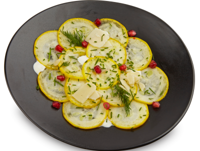 courgettecarpaccio recept EQ3